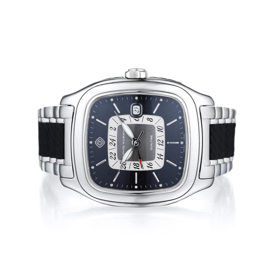 David Yurman Thoroughbred Gents Stainless Steel Watch