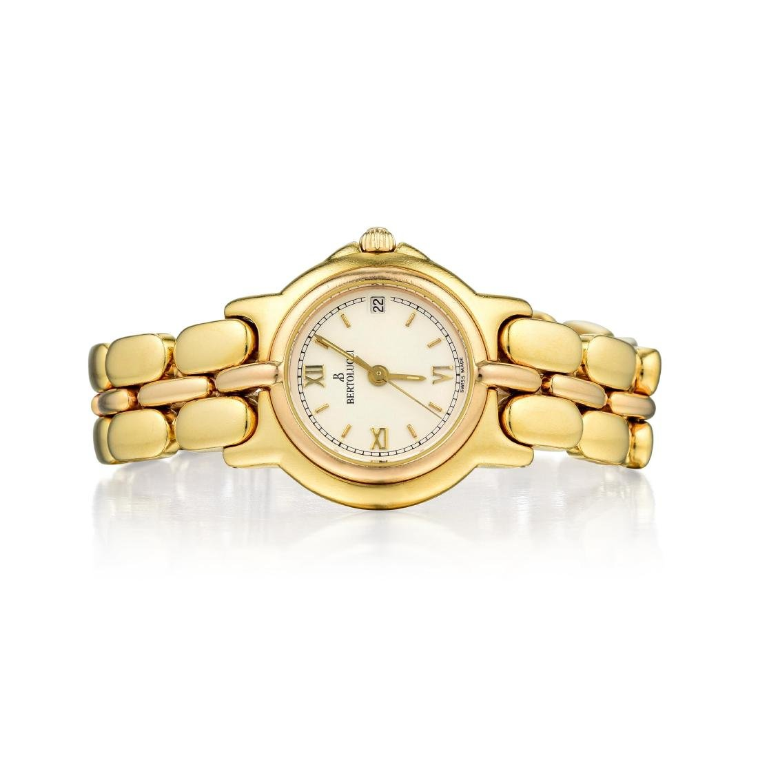 Bertolucci Ladies 18K Gold Pulchra Watch