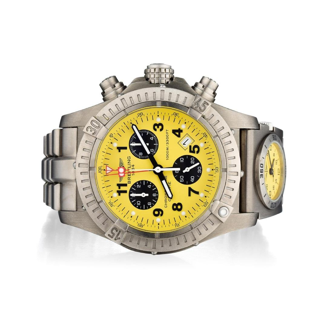 Breitling Avenger Gents Titanium Chronograph Watch