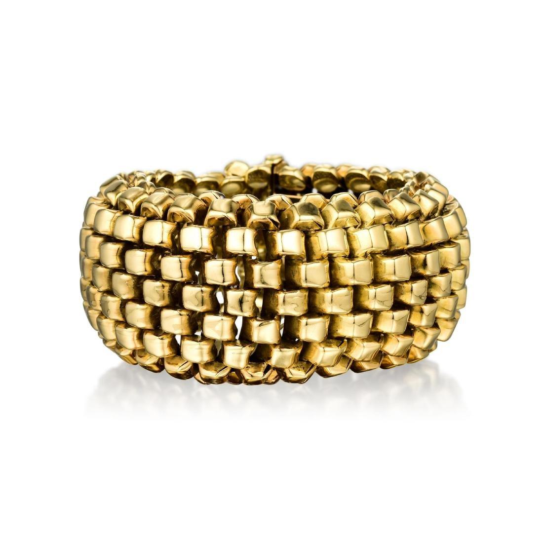 A Gold Bracelet, French