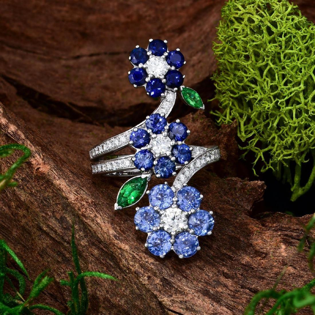 Van Cleef & Arpels Folie des Pres Sapphire Ring