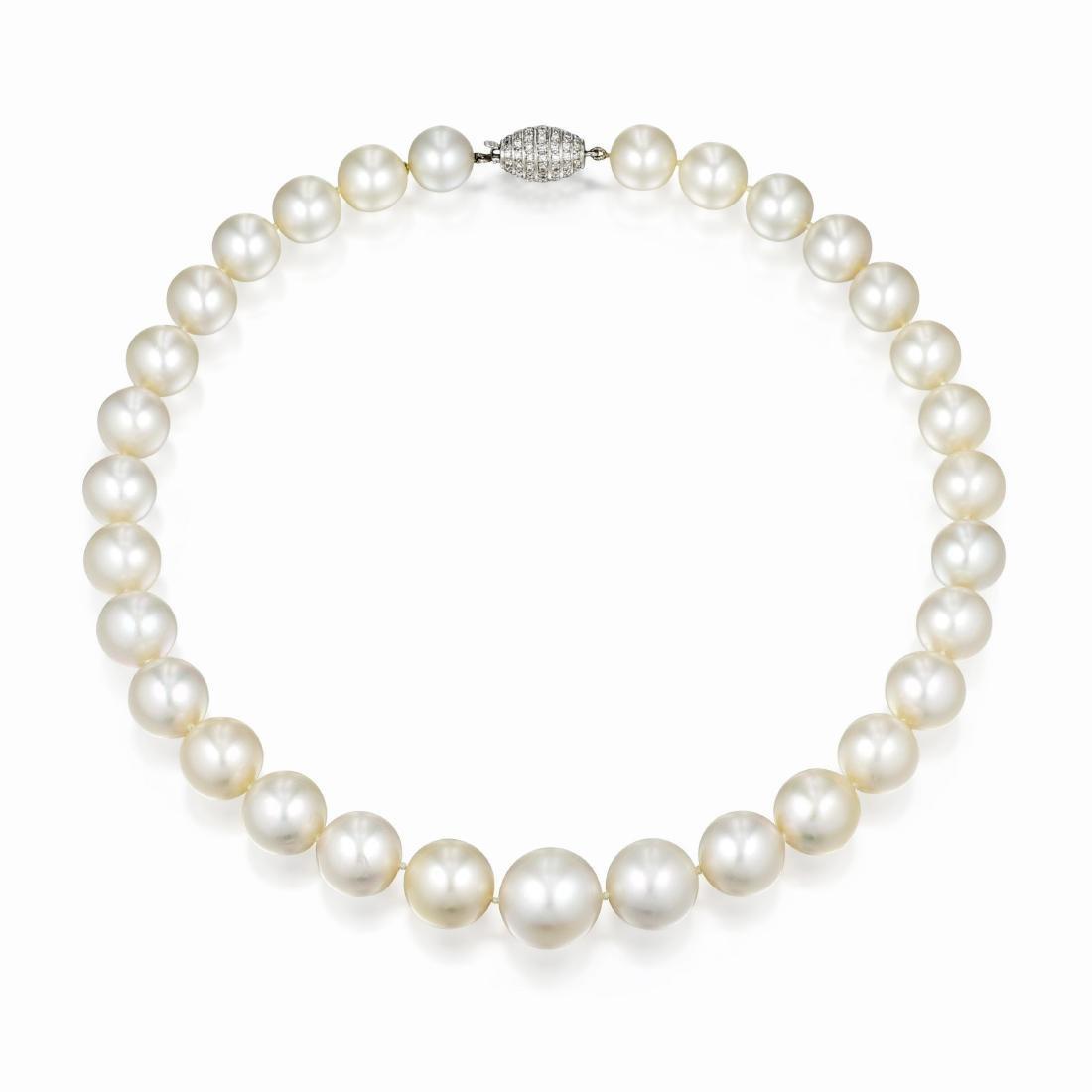 Cartier South Sea Pearl Necklace