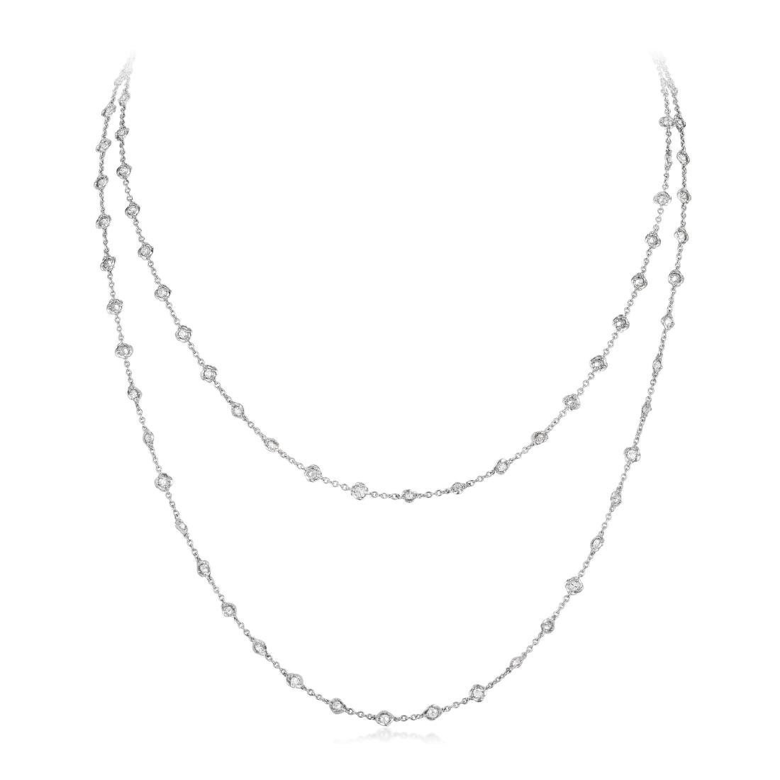 Morelli Diamond Necklace