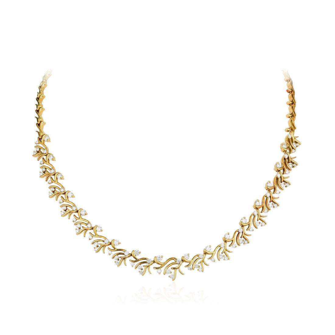 Jose Hess Diamond Necklace