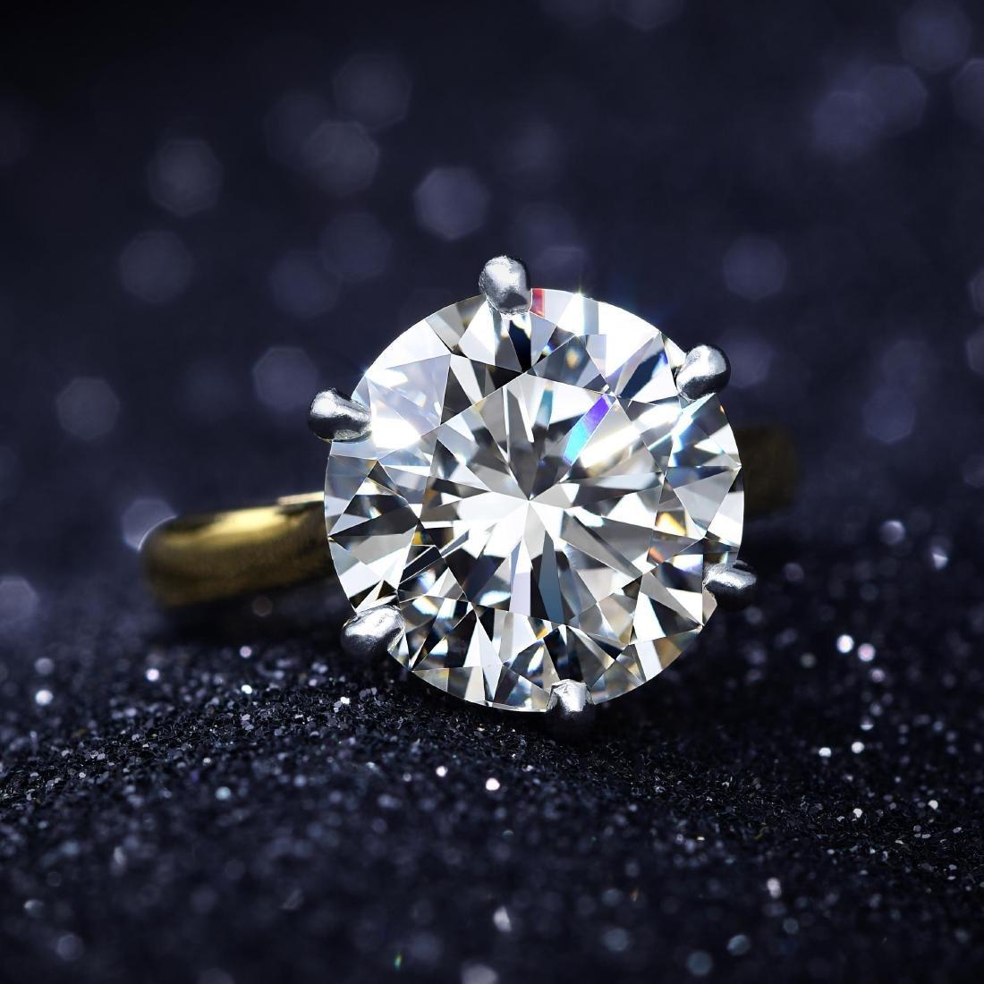 A 5.37-Carat Diamond Ring