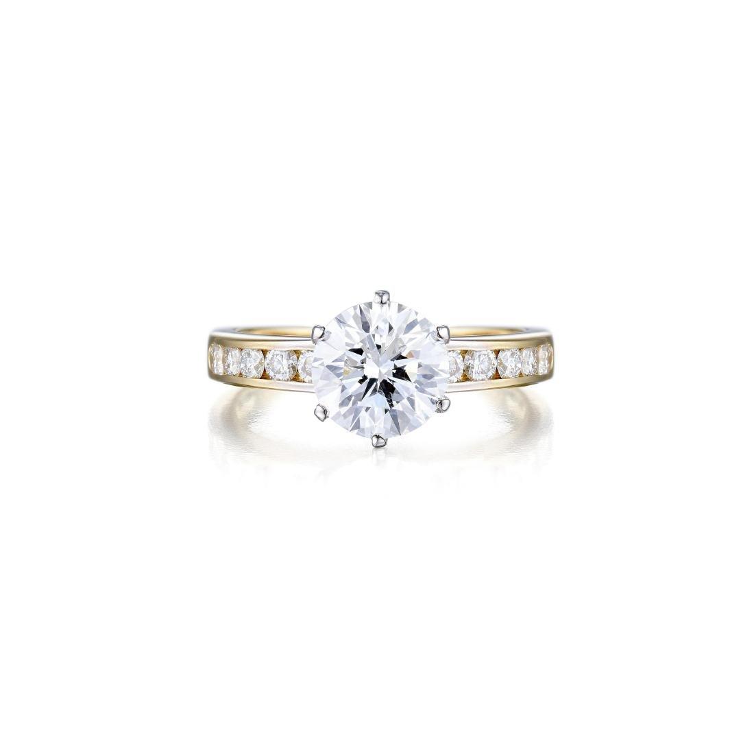 Tiffany & Co. 1.81-Carat Diamond Ring