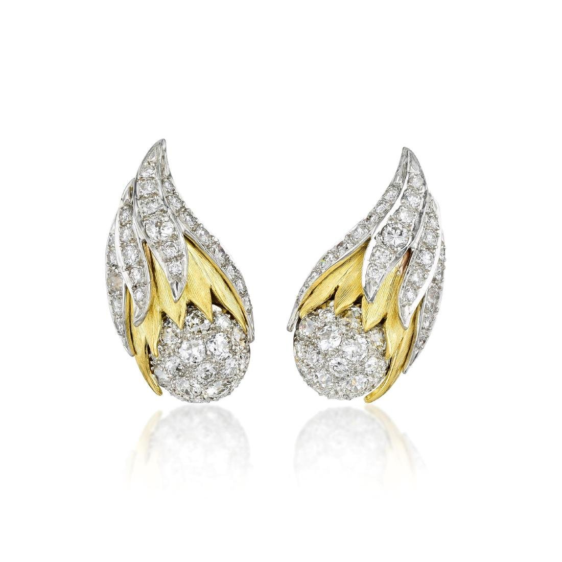 Erwin Pearl Diamond Earrings