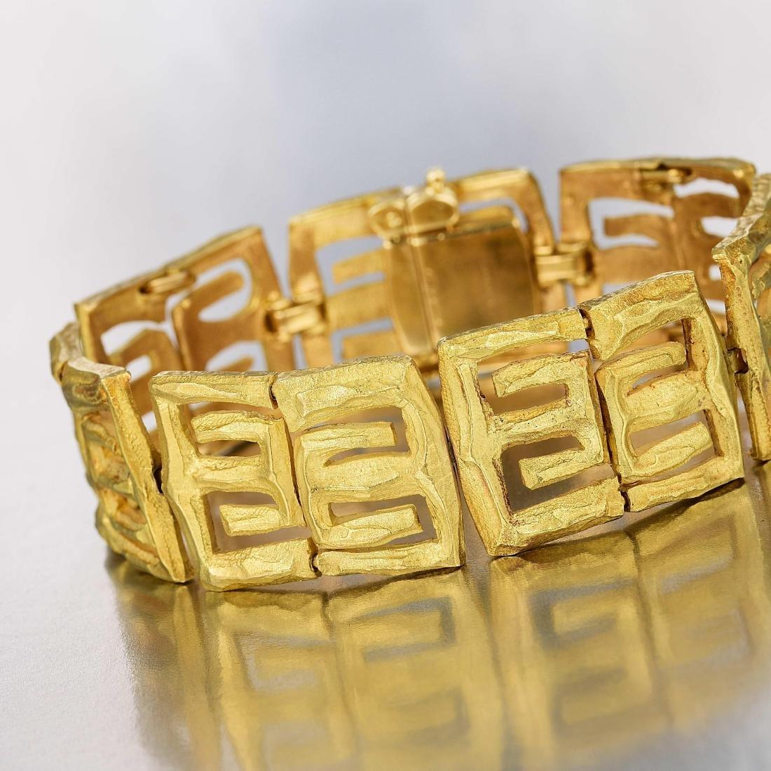 George L'Enfant for Cartier Gold Bracelet