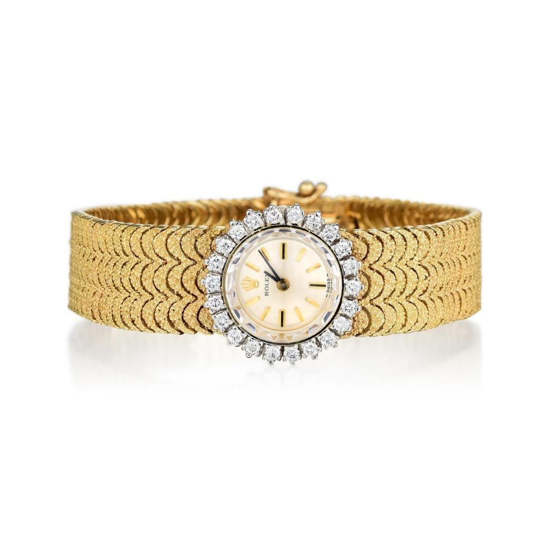 Rolex Ladies Diamond Dress Watch ref. 8159
