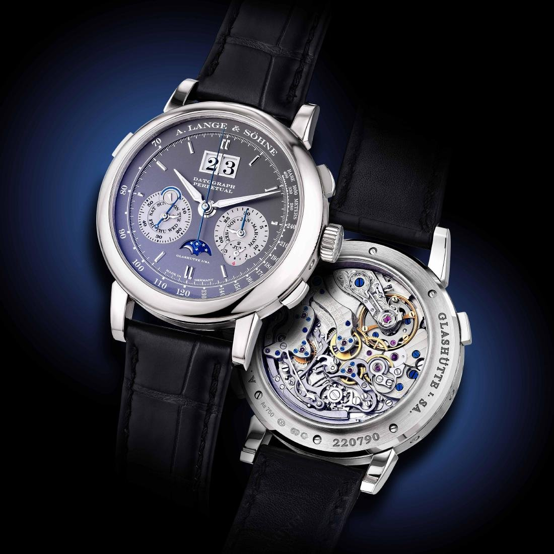 A. Lange & Sohne Datograph Perpetual ref. 410.038FE
