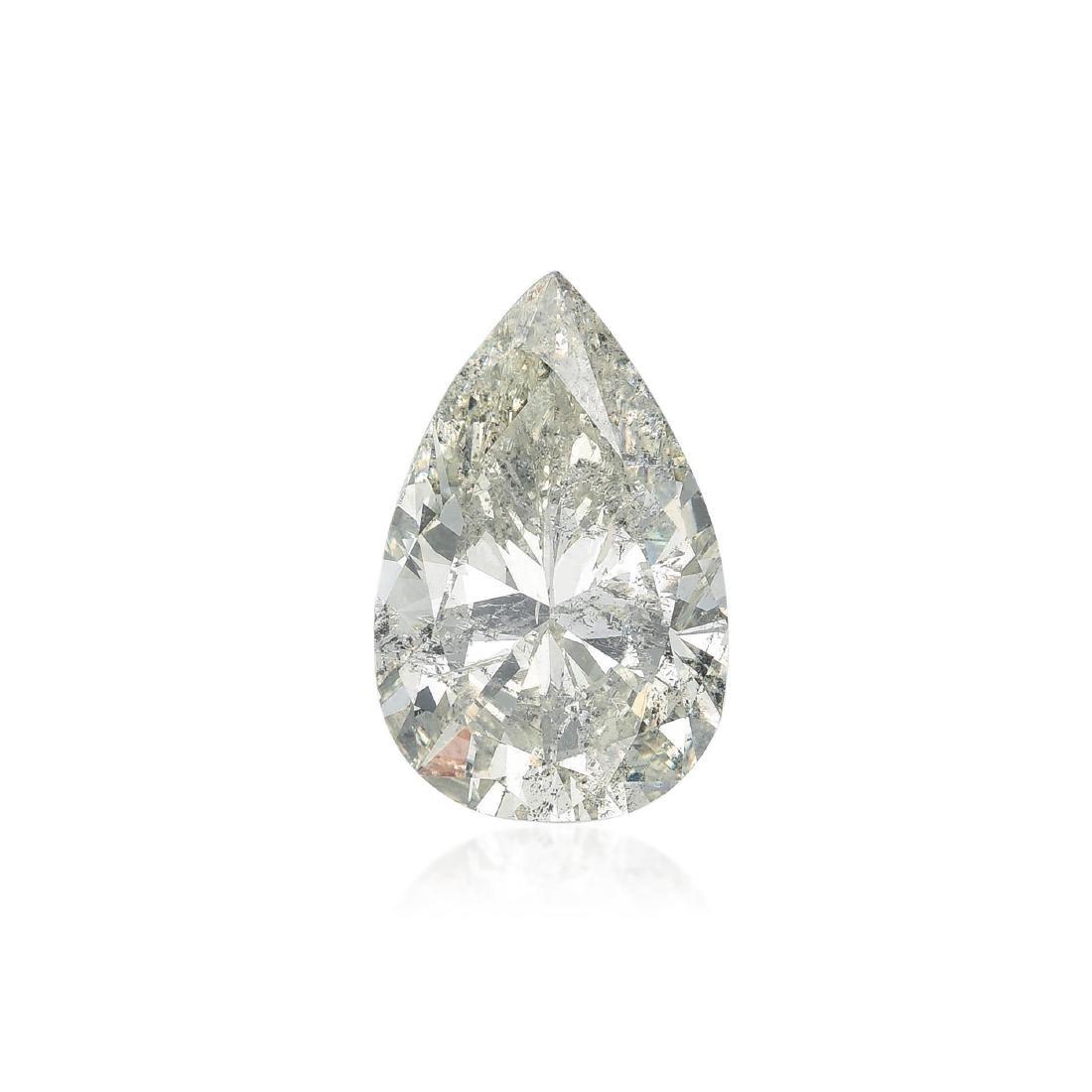 A 12.75-Carat Diamond