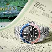 """Rolex Oyster Perpetual GMT-Master """"Pepsi"""" Watch"""