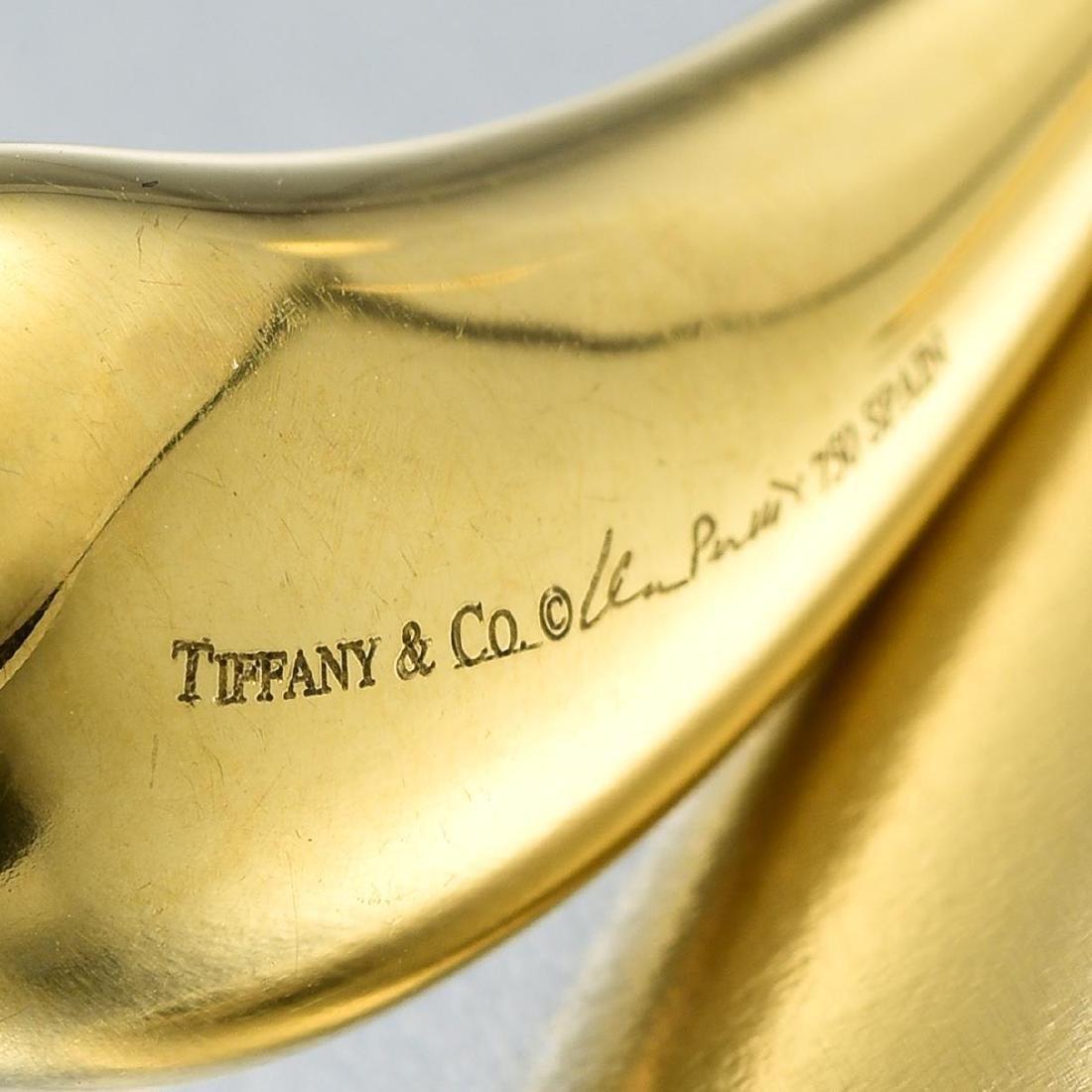 Tiffany & Co. Elsa Peretti 18K Gold Teardrop Earrings - 3