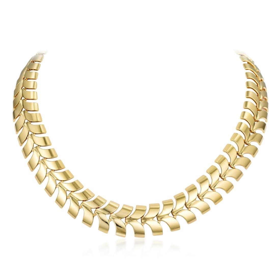 Tiffany & Co. Gold Necklace and Bracelet Set - 2