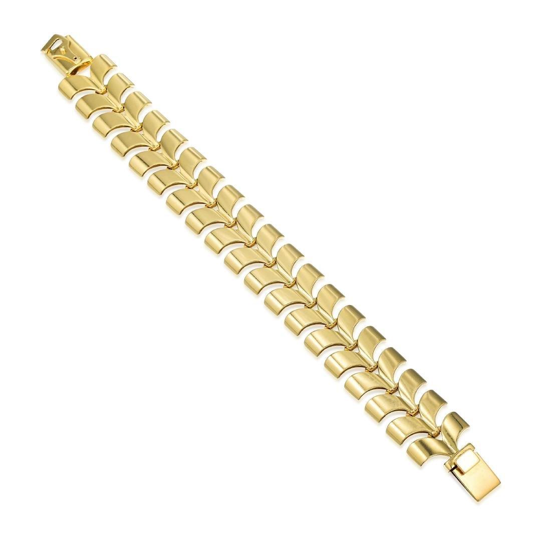 Tiffany & Co. Gold Necklace and Bracelet Set - 4