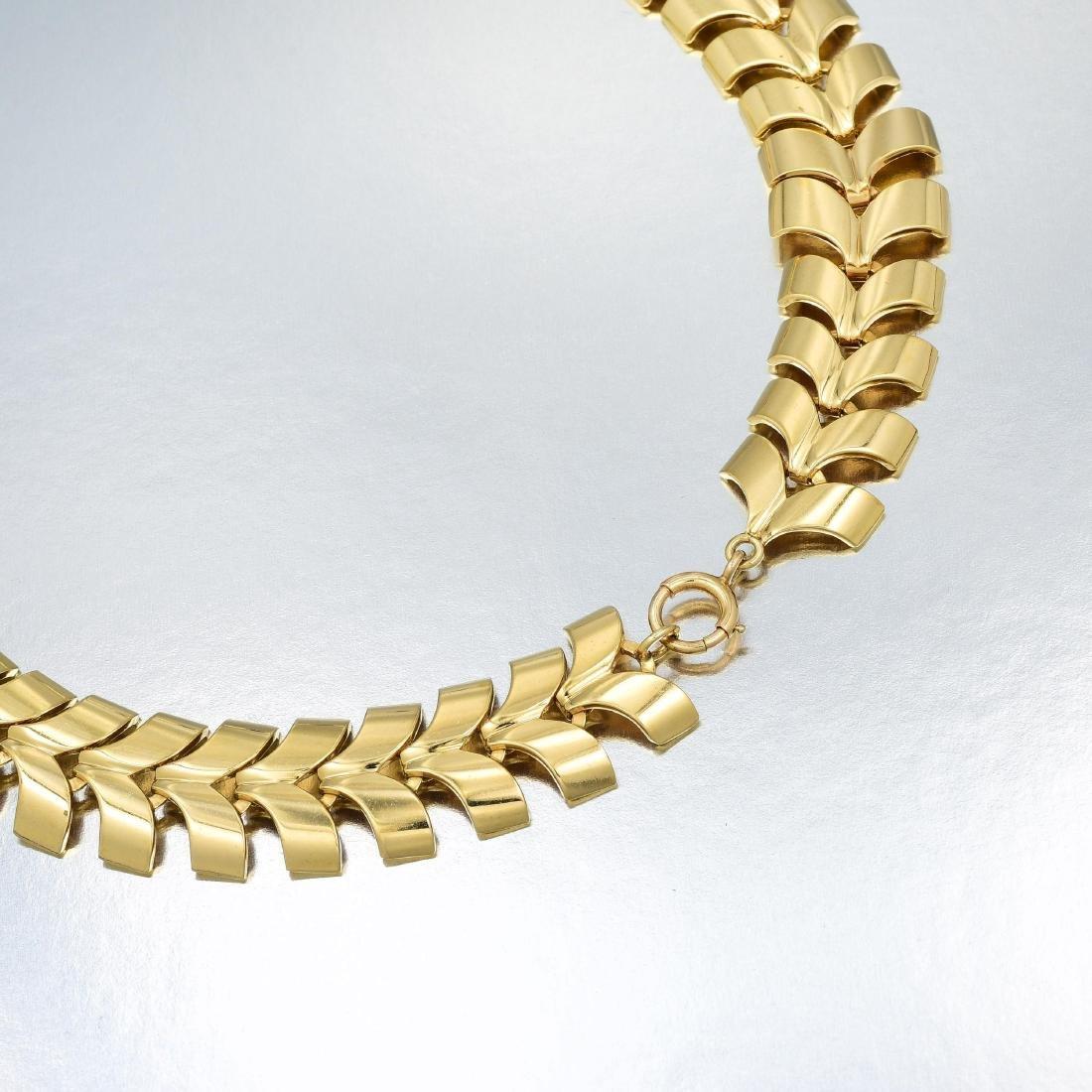 Tiffany & Co. Gold Necklace and Bracelet Set - 5