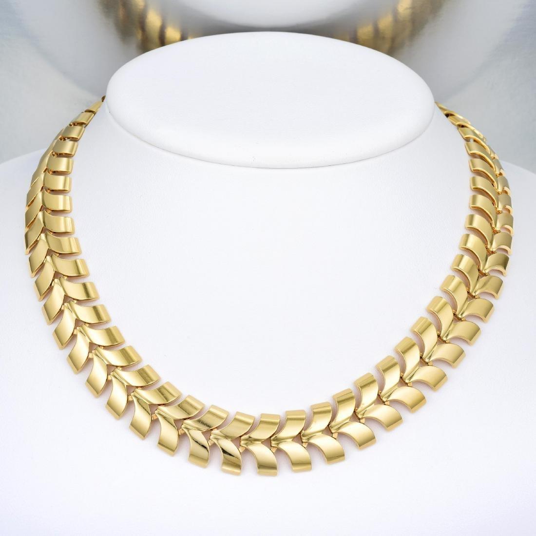 Tiffany & Co. Gold Necklace and Bracelet Set - 6