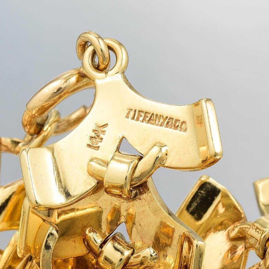 Tiffany & Co. Gold Necklace and Bracelet Set - 7