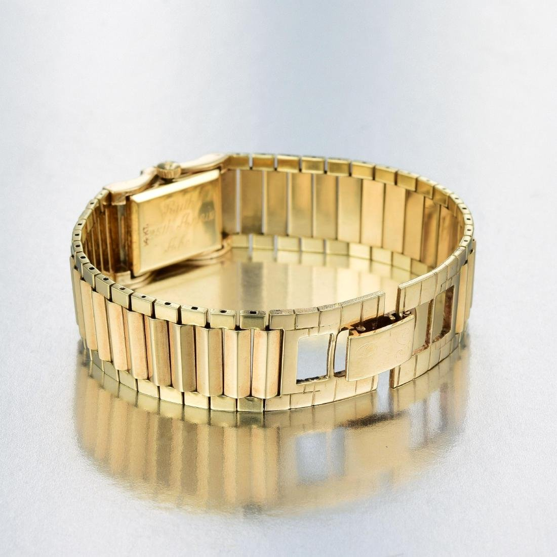 A 14K Gold Ladies Hamilton Watch - 3