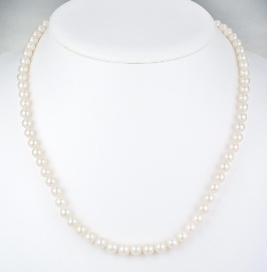 Mikimoto Pearl Necklace - 3
