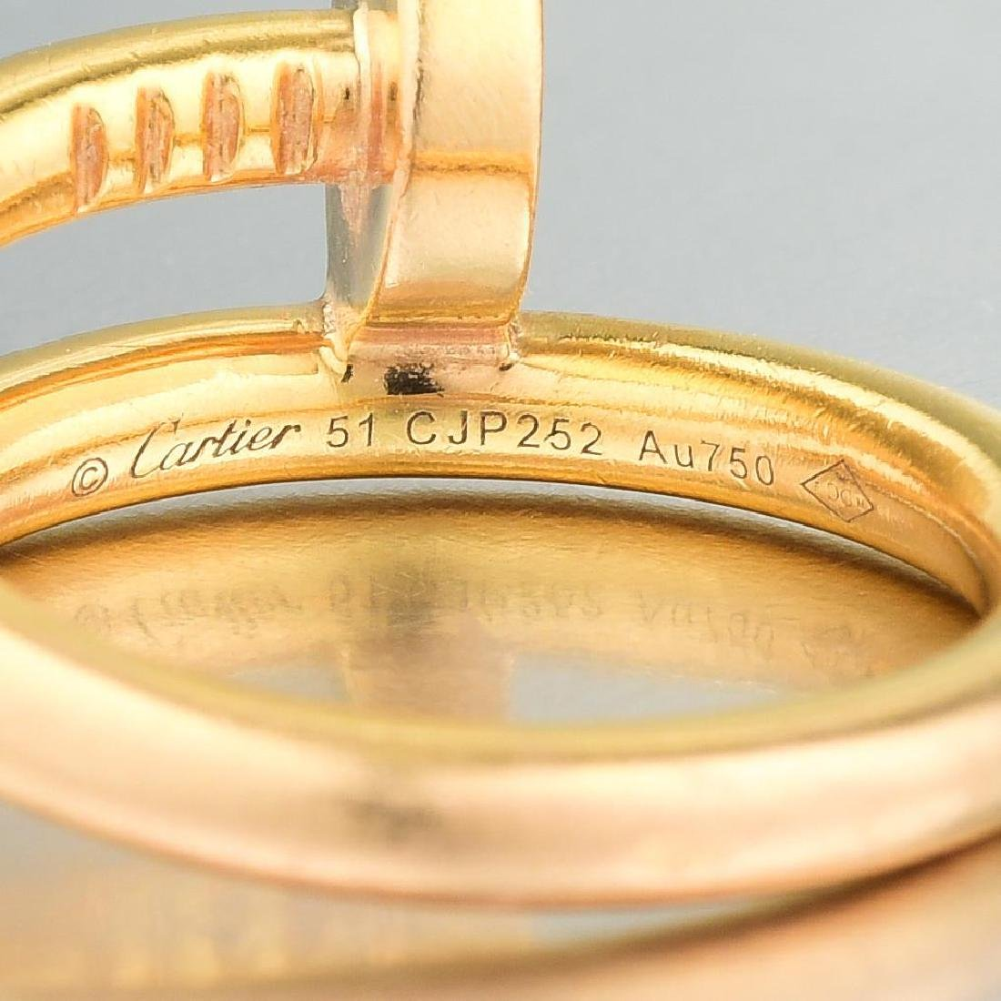 "Cartier ""Juste Un Clou"" Ring - 4"