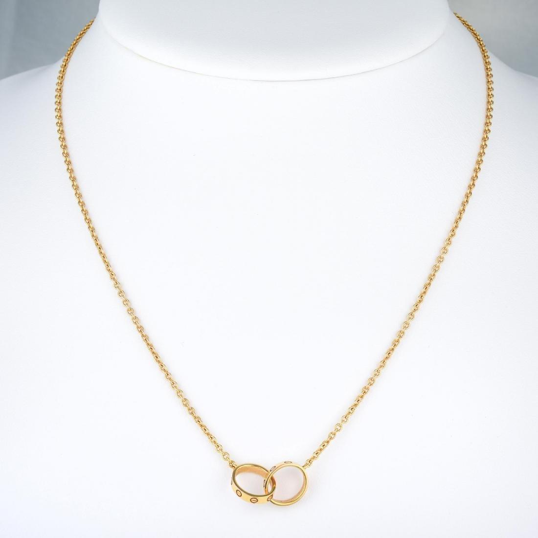 "Cartier ""Love"" Necklace - 5"