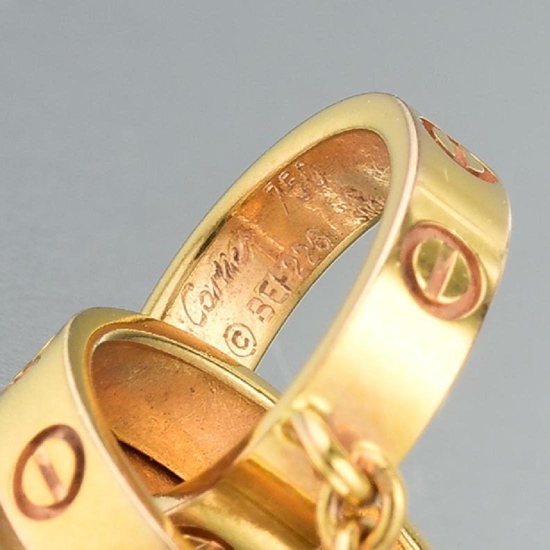 "Cartier ""Love"" Necklace - 6"