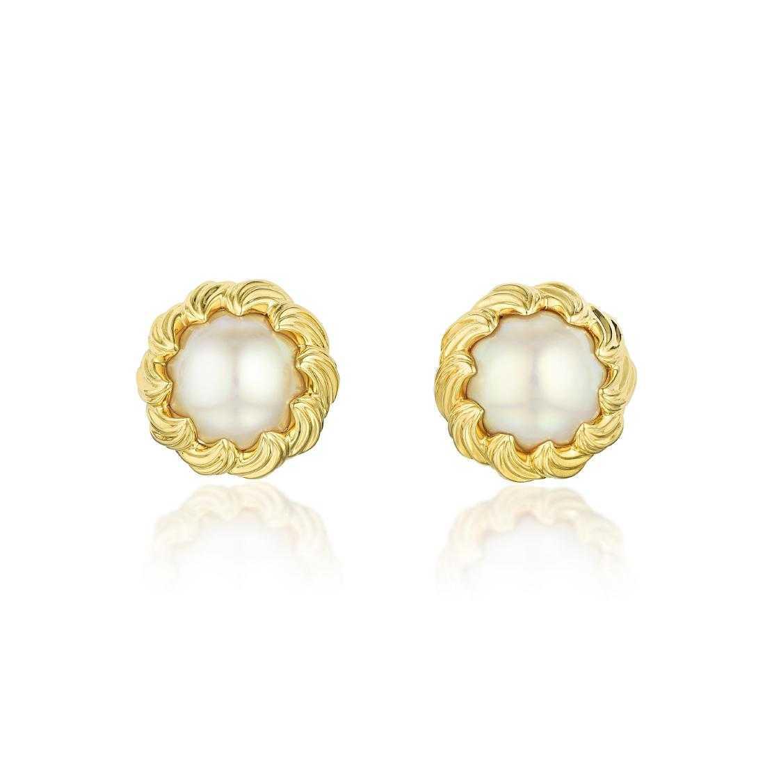 1d5f0ab0b Tiffany & Co. Mabe Pearl Earrings
