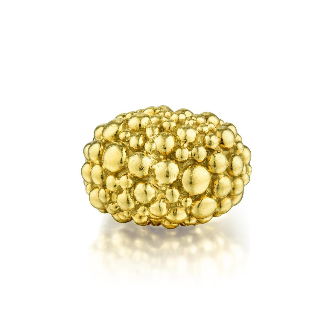 David Webb Gold Ring - Feb 13, 2019 | Fortuna Auction in NY