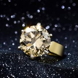 An 11.80-Carat Diamond Ring