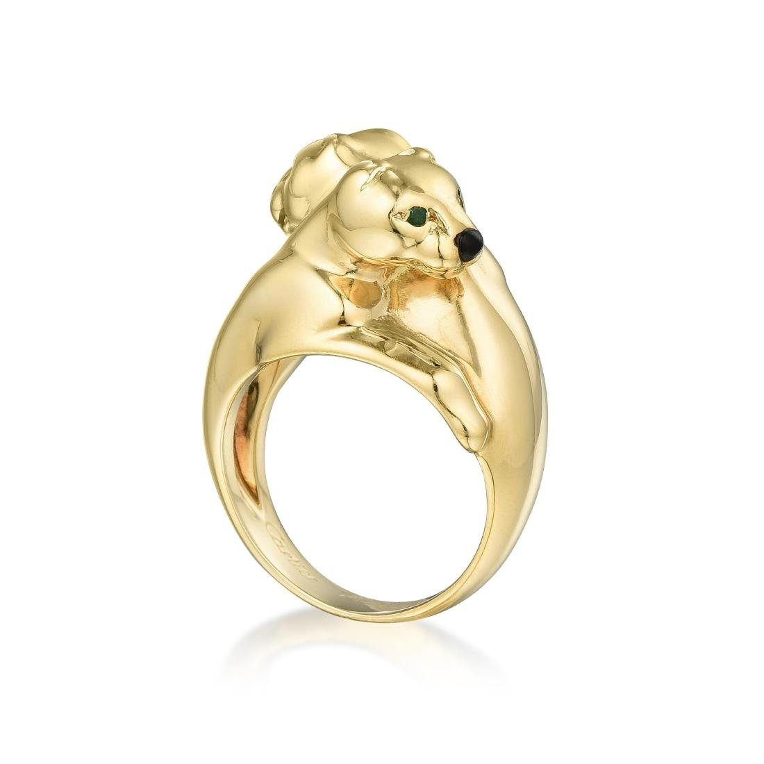ce73250c95cb8 Cartier Double Panther Ring - Apr 11, 2019   Fortuna Auction in NY