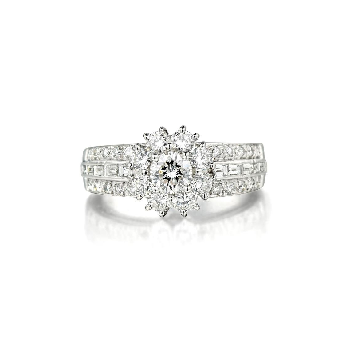 Van Cleef & Arpels Snowflake Diamond Ring