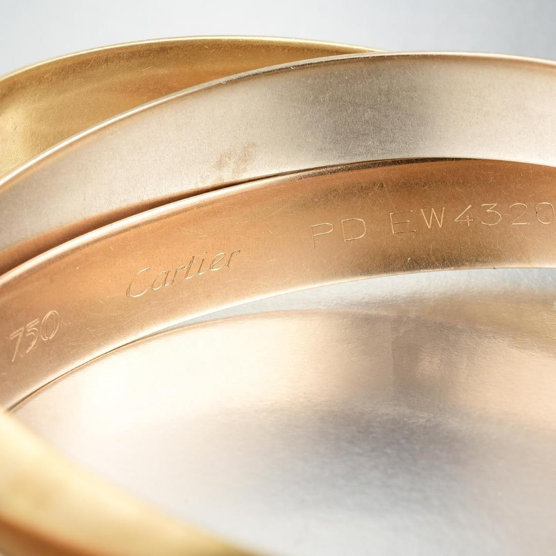 Cartier Trinity Bangle Bracelet, Large Model - 3