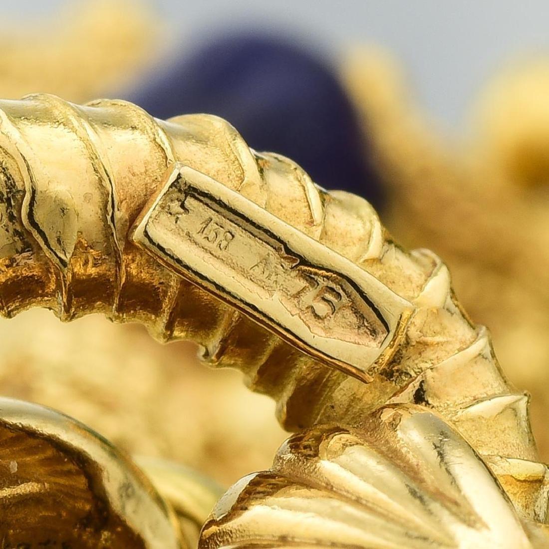 A Multi-Gemstone Charm Bracelet, Italian - 4