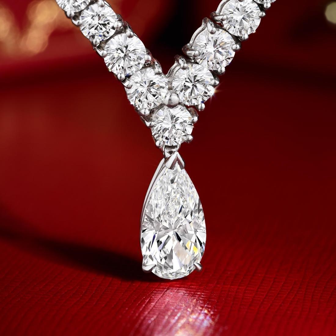 Cartier Diamond Riviere Necklace