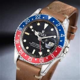 Rolex GMT-Master Ref. 1675 in Steel