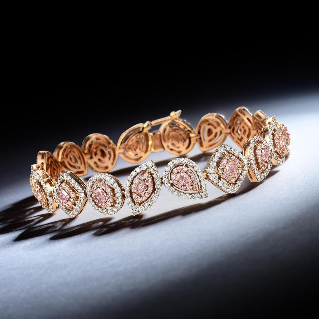A Pink Diamond Bracelet