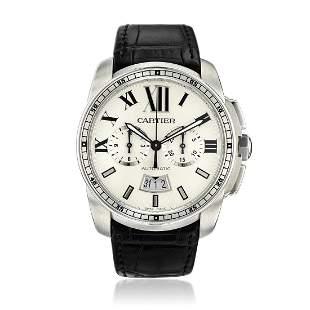 Cartier Calibre de Cartier Chronograph Ref. W7100046 in