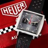 Heuer Monaco Ref. 1133G in Steel