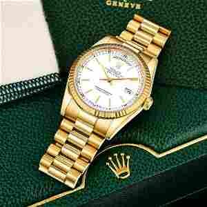 Rolex Day-Date Ref. 118238 in 18K Gold