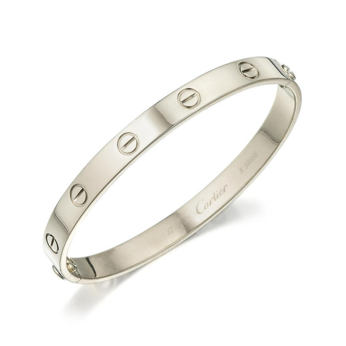 d02f00abfaaca Cartier Love Bracelet in White Gold