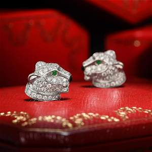 Cartier Panther Earrings