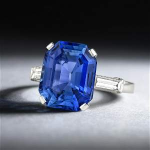 Van Cleef & Arpels 5.32-Carat Unheated Ceylon Sapphire