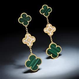Van Cleef & Arpels Magic Alhambra Malachite and Diamond