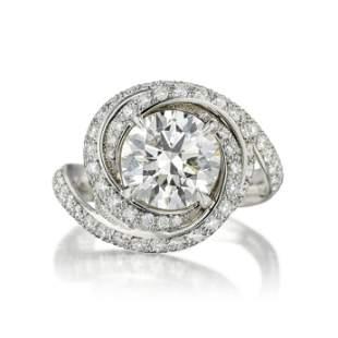 Cartier Trinity Ruban 2.16-Carat Diamond Ring