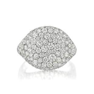 David Yurman Pave Diamond Ring