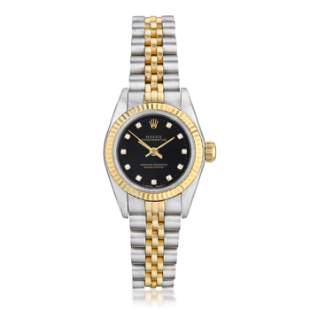 Rolex Ladies Oyster Perpetual Ref. 67193 in Stainless