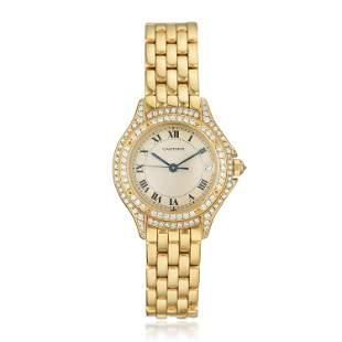 Cartier Ladies Cougar Watch in 18K Gold
