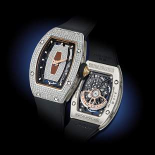 Richard Mille RM07 Ladies in 18K White Gold with