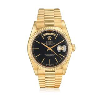 Rolex President Day-Date Ref. 18238 in 18K Yellow Gold
